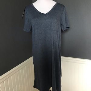 YELETE • Denim Blue Tee Shirt Dress